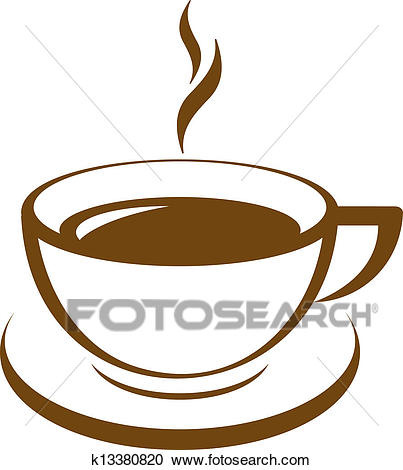 403x470 Cup Of Coffee Clip Art Clipart Of Vector Icon Of Coffee Cup