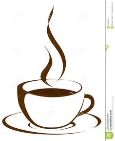 236x288 Coffee Cup Black And White Clipart