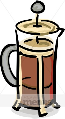 213x388 French Press Clipart Coffee Clipart