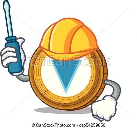 450x420 Automotive Verge Coin Mascot Cartoon Vector Illustration Clipart