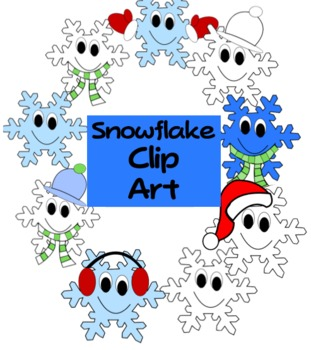 311x350 Snowflake Clip Art Teaching Resources Teachers Pay Teachers