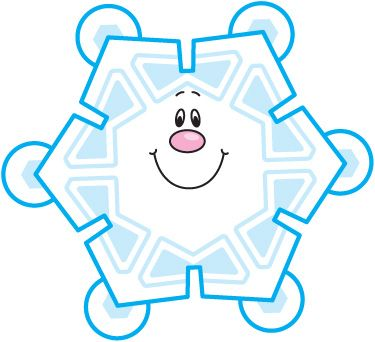 375x342 Animated Snowflake Clipart