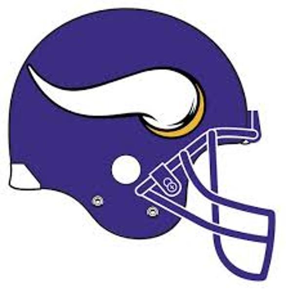 587x600 Viking Clipart Football Helmet