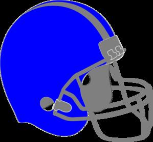 299x279 Blue Football Clipart