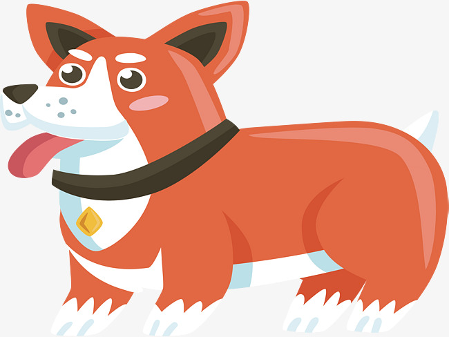 650x488 Lovely Collie, Vector Png, Corgi, Lovely Dog Png And Vector