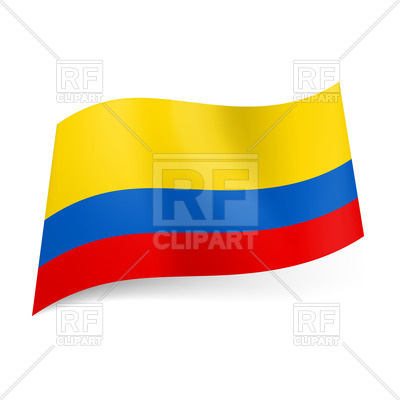 400x400 National Flag Of Colombia Royalty Free Vector Clip Art Image