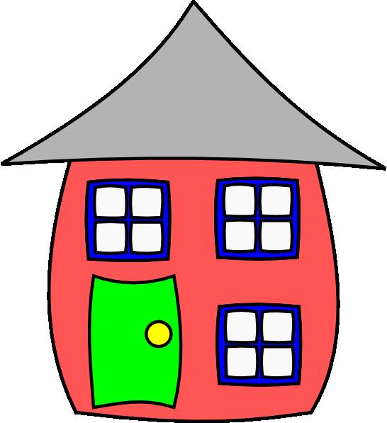 546x597 Clip Art Colonial Home Clipart