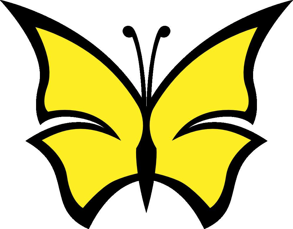 999x781 Clip Art Butterfly Color Colour Peace Svg