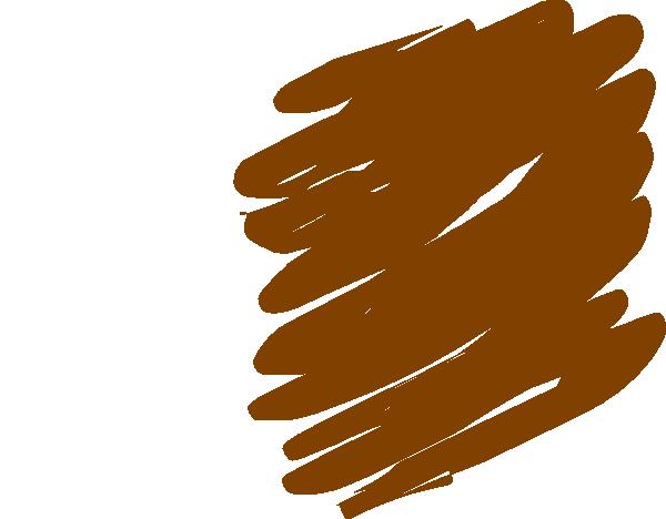 600x468 Brown Scribble Clip Art
