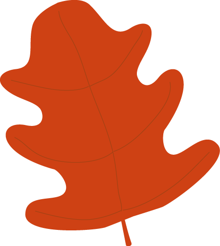 450x504 Brown Clipart Brown Leaf