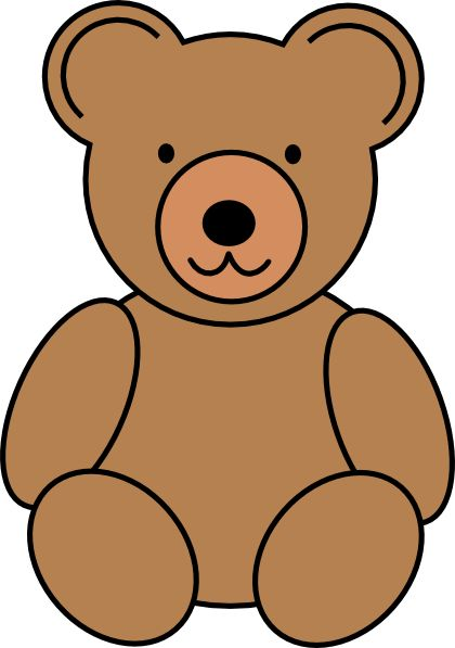 420x597 Exclusive Idea Brown Bear Clipart Cute Forest Animal Pencil And