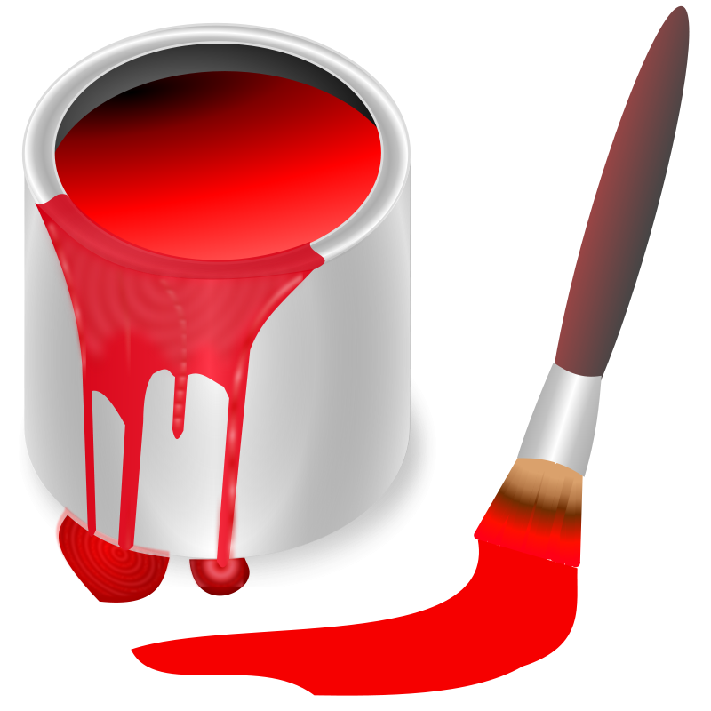 800x800 Free Clipart Color Bucket Red Knk Allerlei Free