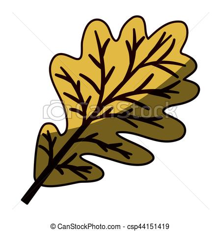 450x470 Silhouette Brown Color With Middle Shadow Of Dried Leaves