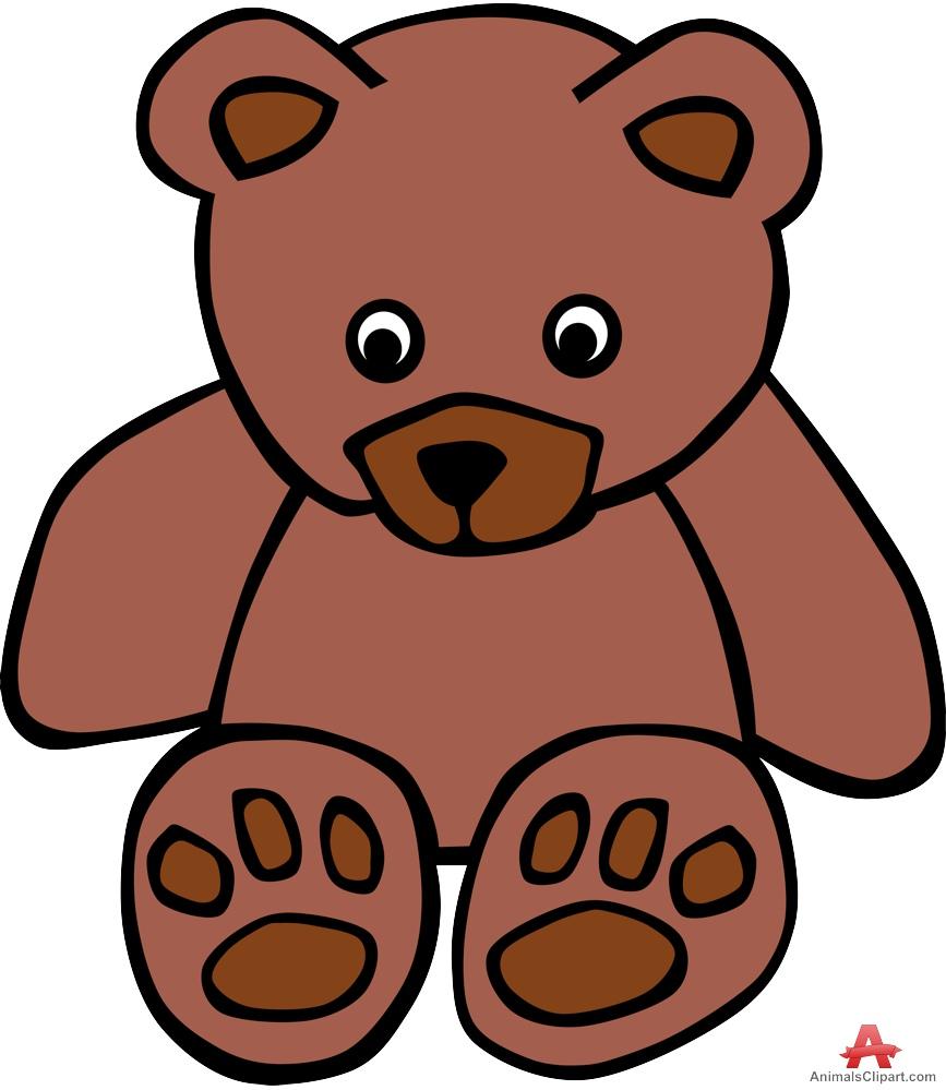867x999 Brown Bear Clipart Tedy