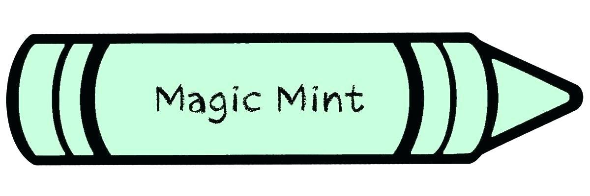 1200x400 Seafoam Green Crayola Coloring Page Green Color Medium Image