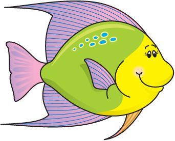 342x277 Fins Clipart Green Fish Pencil And In Color