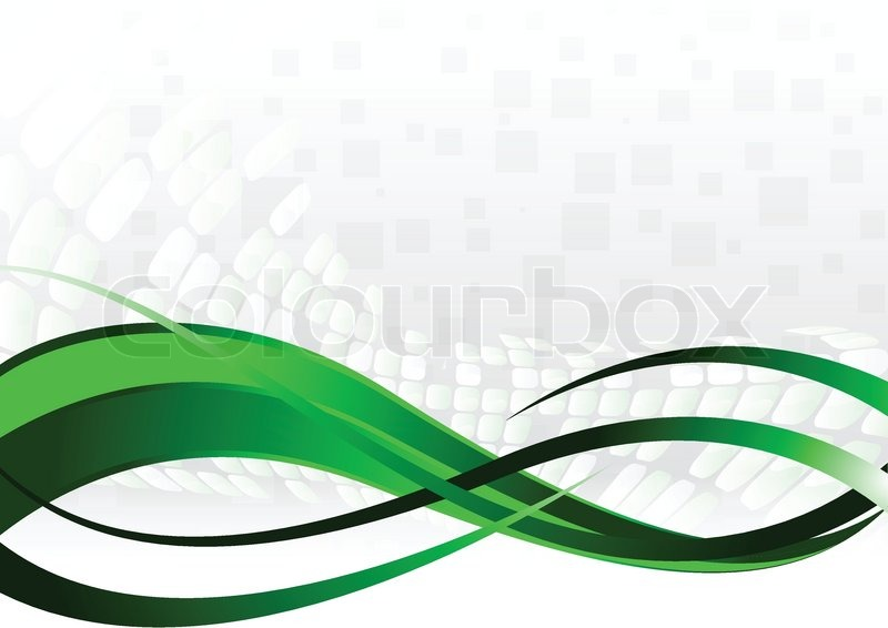 800x566 Vector Abstract Background In Green Color Stock Vector Colourbox