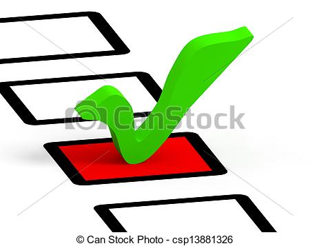450x357 Check List Symbol, Green Color. Check List With Green Check