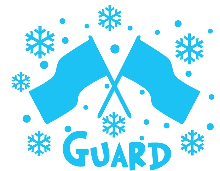 Color Guard Clipart