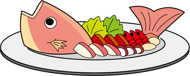 605x243 Clip Art Fish Dinner Pictures Diner Clipart Pencil And In Color