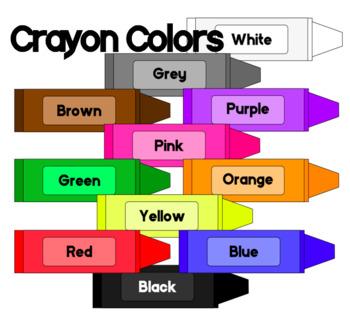 350x322 Crayon Colors