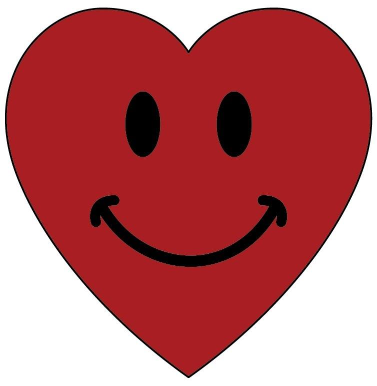 754x771 Heart Smiley Faces Clip Art World Of Example
