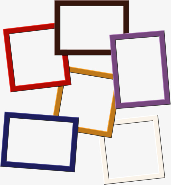 600x650 Simple Colored Border, Colored Border, Frame Color, Red Frame Png