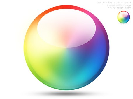 456x342 Free Psd Color Wheel Icon Clipart And Vector Graphics