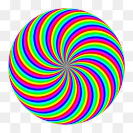 260x260 Spiral Red Clip Art