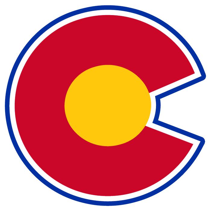 694x700 Logo Red And Blue Colorado Rockies Alternate National Hockey