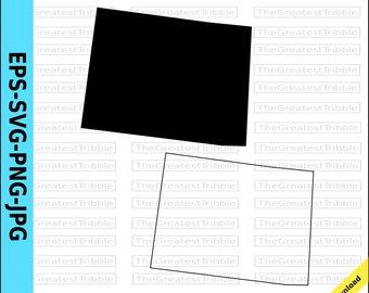 340x270 Colorado Vector, State Clipart, Co Clip Art, Colorado Svg, State