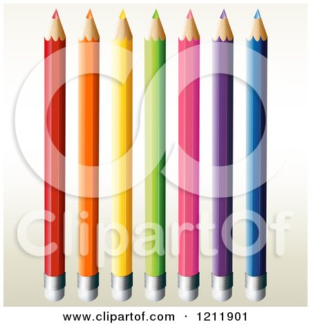 450x470 Clipart Of Colored Pencils