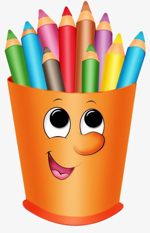 516x800 Colored Pencils, Cartoon Pen, Big Eyes Pen, Graphic Design Png