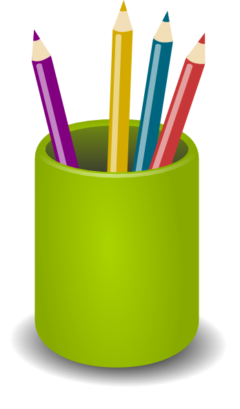348x593 Image Of Colored Pencil Clipart