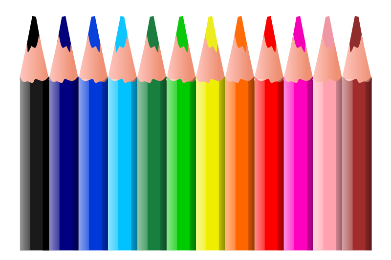 colored pencil clipart at getdrawings com free for Free Crayon Clip Art Large Crayon Clip Art