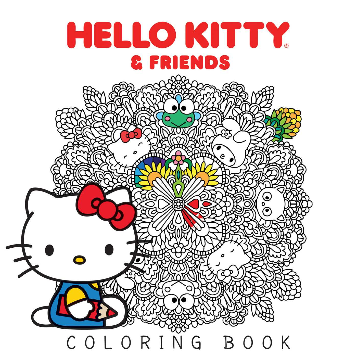 1400x1400 Hello Kitty Amp Friends Coloring Book Book By Various Official