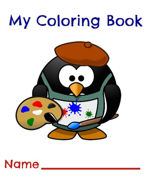 Coloring Book Cover Page at GetDrawings.com | Free for personal use ...