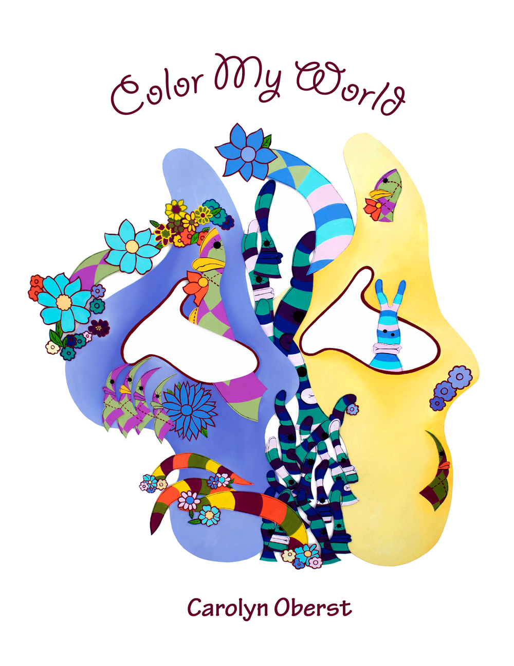 1000x1294 Color My World (Coloring Book) Carolyn Oberst