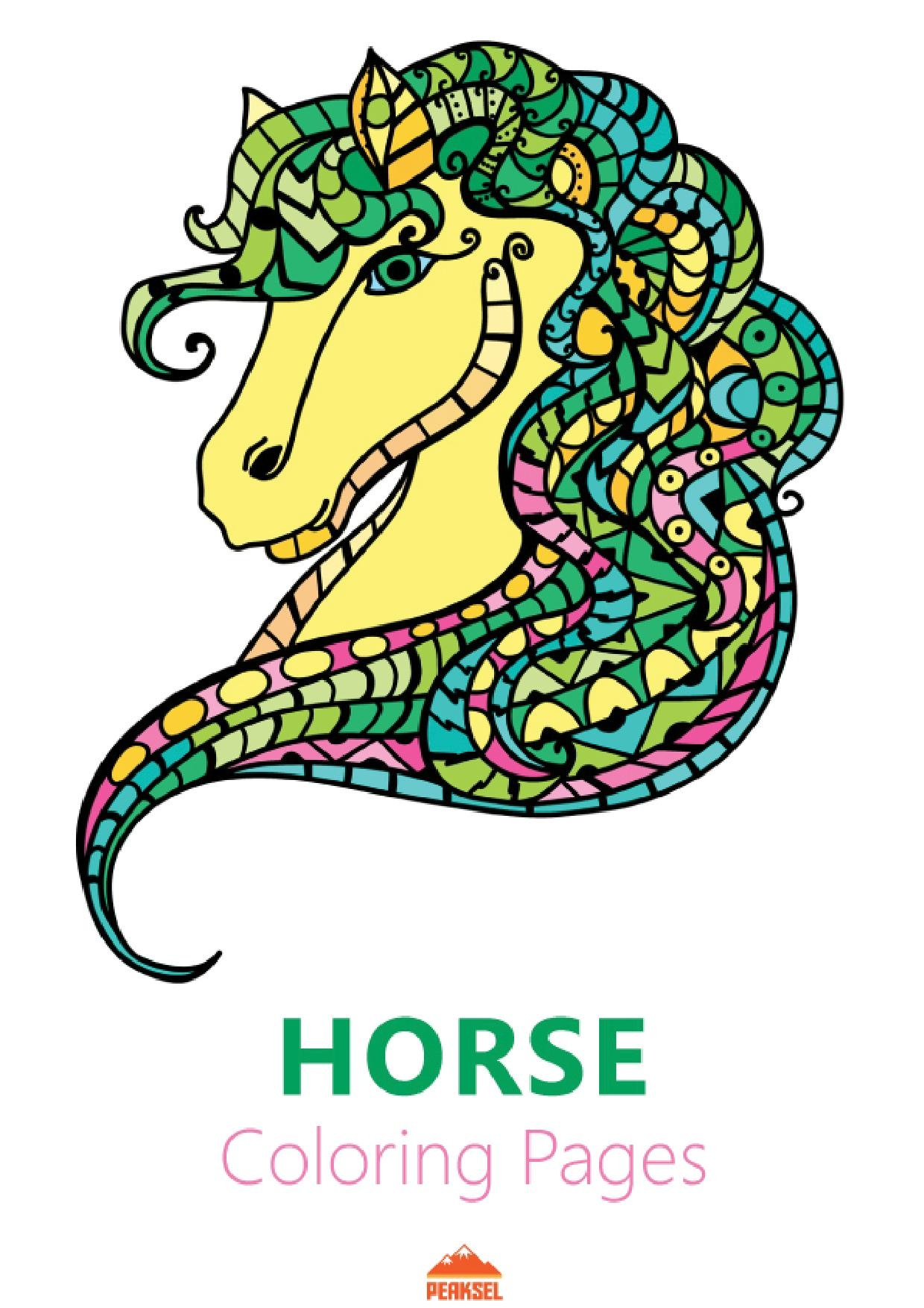 1240x1754 Filehorse Coloring Pages