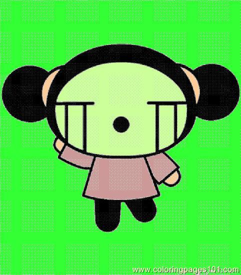 482x550 Pucca001 (3) 1 Coloring Page