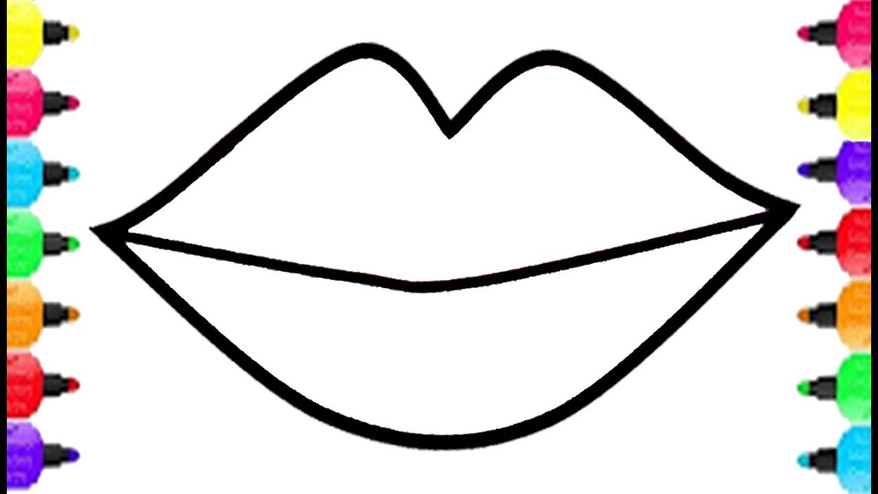 1280x720 Maxresdefault For Lips Coloring Page