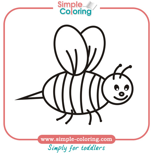 496x496 Simple Coloring Animals Simple Coloring Pages For Toddlers