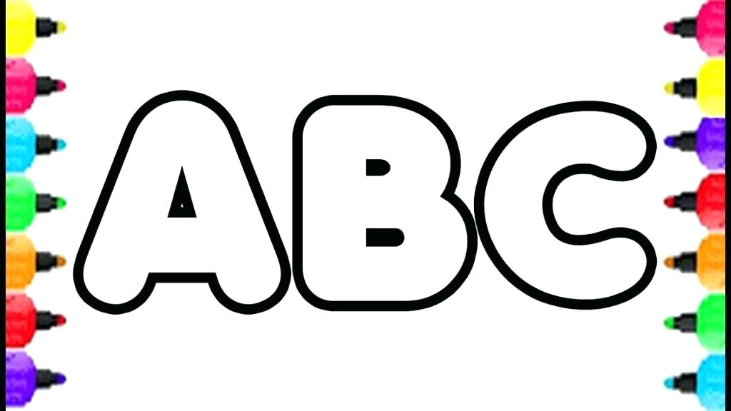 1024x576 Big Alphabet Coloring Pages Letter J Page Funny X Animal Letters