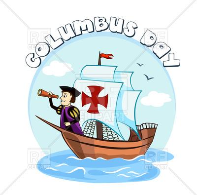 400x395 Columbus Day Design