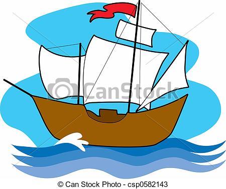 450x377 Sailing Ship Clipart