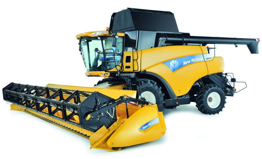 900x547 New Holland Combine Signtorch, Turning Images Into Vector Cut Paths.