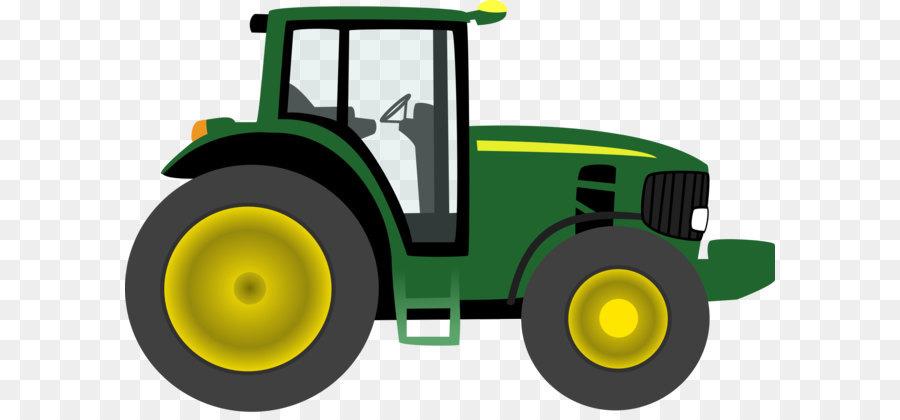 900x420 John Deere Tractor Clip Art