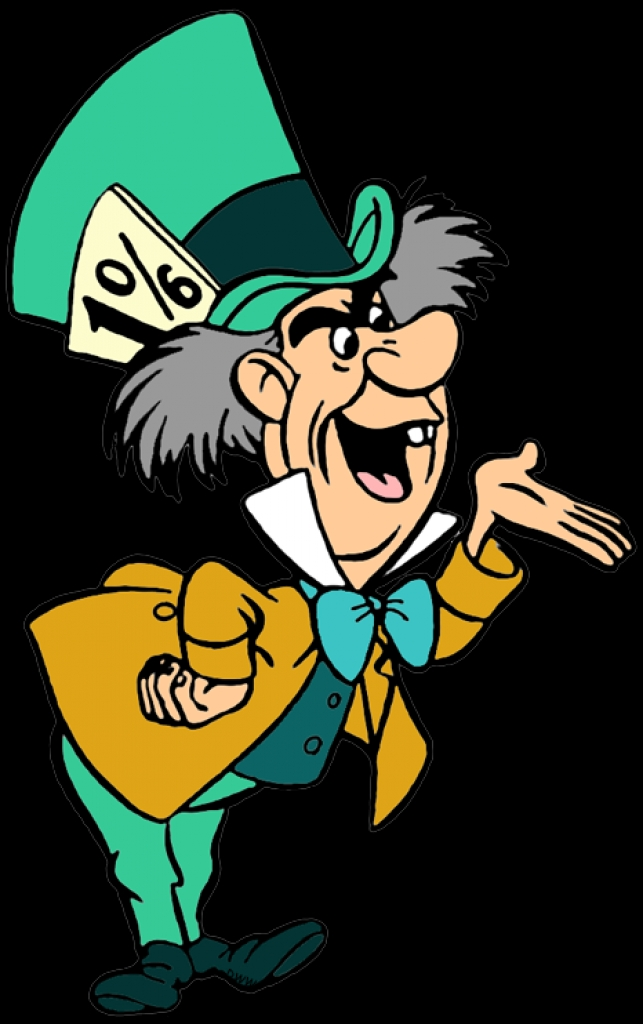 643x1024 March Hare And Mad Hatter Clip Art Disney Clip Art Galorepng Mad