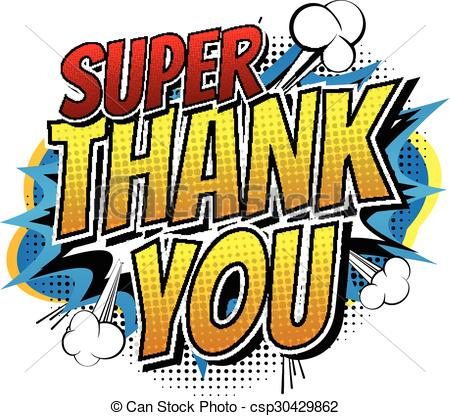 450x416 Thank You Clip Art Free Super Thank You Comic Book Style Word