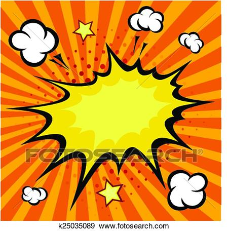 450x456 Comic Book Clip Art Clip Art Of Comic Book Explosion Vector